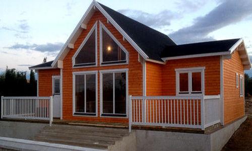 Casas de madera baratas precios ofertas daype - Tipos de tejados para casas ...