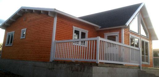 Casas de madera modelo francia i daype - Casas canadienses espana ...