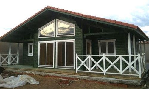 Casas de madera mas de 110 m2 modelos y precios daype - Casas modulares madrid ...