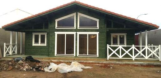 Casas de madera modelo madrid daype for Casas de madera madrid