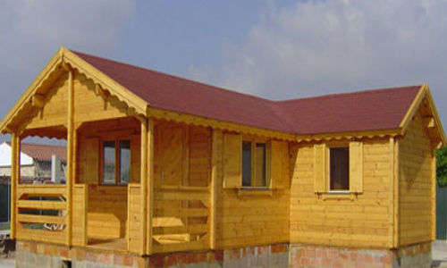 Casas de madera hasta 70 m2 modelos y precios daype for Casas de madera ofertas liquidacion