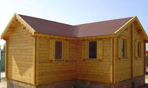 Casas de madera modelo alberto daype - Maderas daype ...