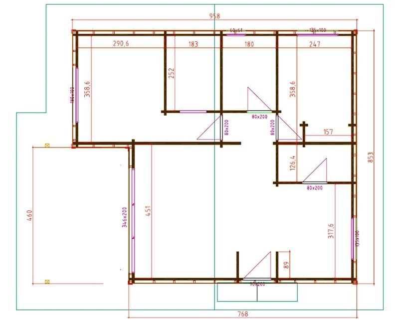 Pin planos casas madera prefabricadas asturias ajilbabcom for Casas prefabricadas asturias