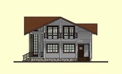 Casas de madera modelo bilbao daype - Maderas daype ...
