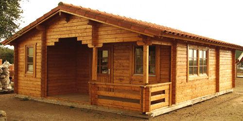 Casas de madera modelo bola os i daype - Casas de madera en tenerife precios ...