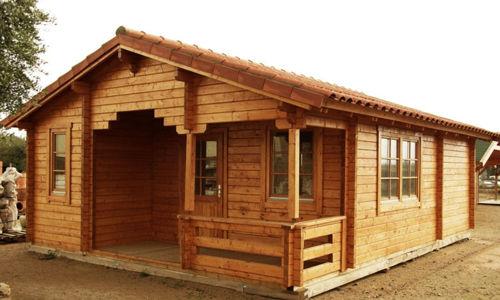Casas de madera hasta 70 m2 modelos y precios daype - Casas de madera en galicia precios ...