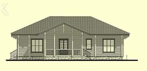 Casas de madera modelo burgos daype - Casas prefabricadas burgos ...