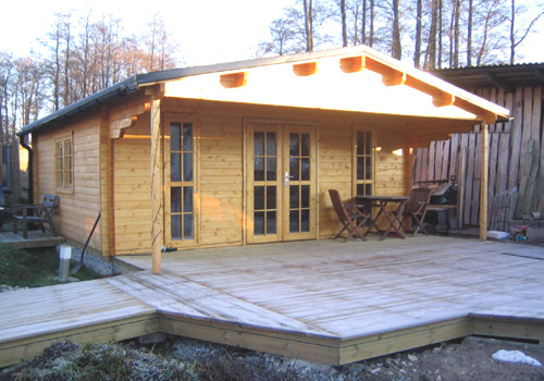 Casas de madera casas de madera burgos daype - Casas prefabricadas burgos ...
