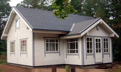 Casas de madera de 120 m2