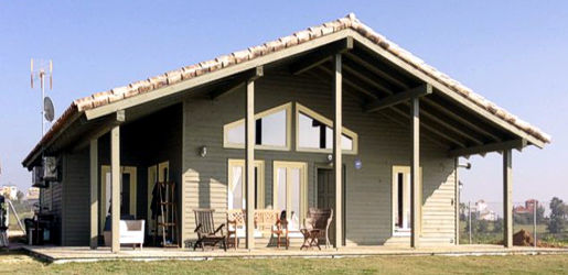 Casas de madera modelo c rdoba daype - Maderas daype ...