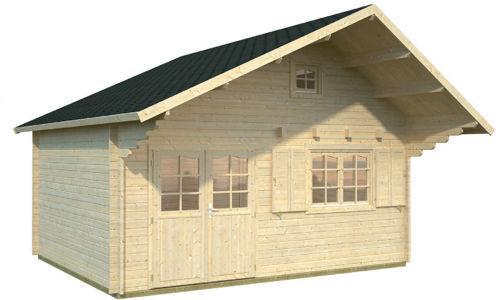 Casas de madera hasta 70 m2 modelos y precios daype - Maderas daype ...