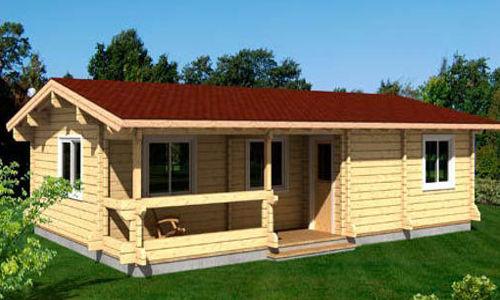 Casas de madera modelo evelin daype - Tejas para casas de madera ...
