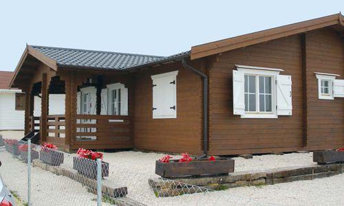 Casas de madera mas de 110 m2 modelos y precios daype for Casas de madera ofertas