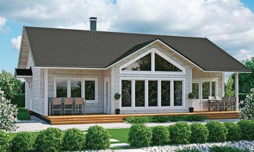 Casas de madera mas de 110 m2 modelos y precios daype Casas modernas precio construccion