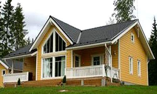 casas de madera de 160 m2. con terraza