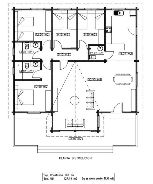 planos de casas francesas
