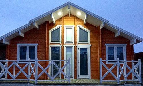 Casas de madera modelo fresno de la vega daype - Maderas daype ...