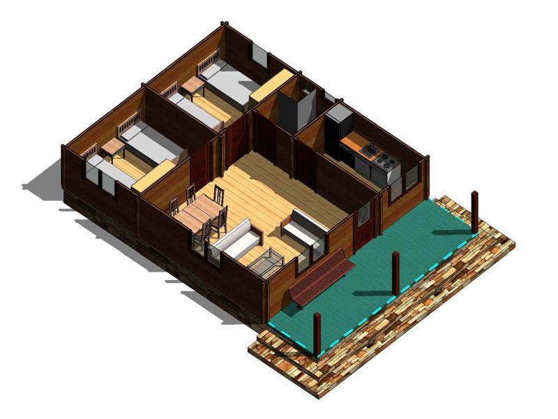 Casas de madera modelo galicia daype - Casas prefabricadas galicia precios ...