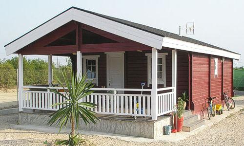 casas de madera de 78 m2. con 22 m2 de terraza