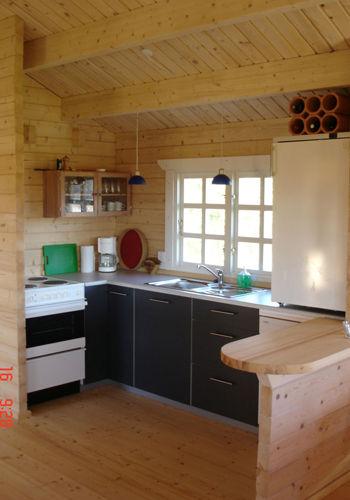 Casas de madera modelo girona daype - Interiores de casas prefabricadas ...