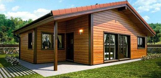 Casas de madera modelo granada daype - Casas de madera en alcorcon ...
