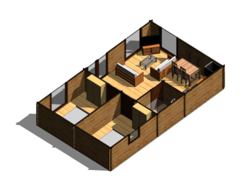 Casas de madera modelo heidi daype - Ver casas de madera ...