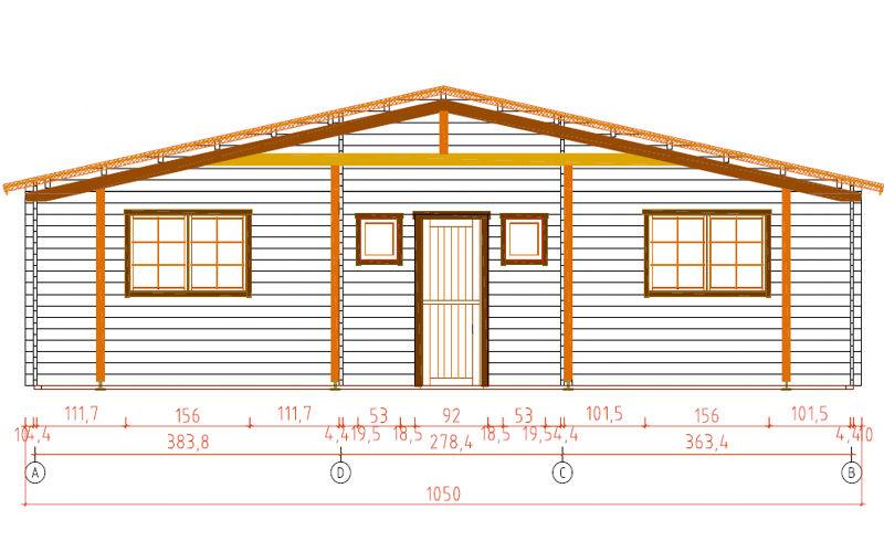 Casas de madera modelos precios y ofertas daype - Planos casas de madera ...