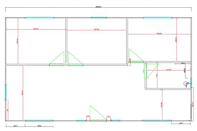 Casas de madera de 62 m2 + 20 m2 de porche