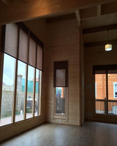 Casas de madera modelo londres fresno daype - Interior casas de madera ...