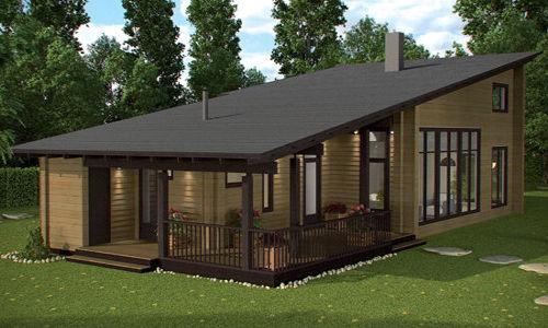 Casas de madera baratas precios ofertas daype - Casas prefabricadas por modulos ...