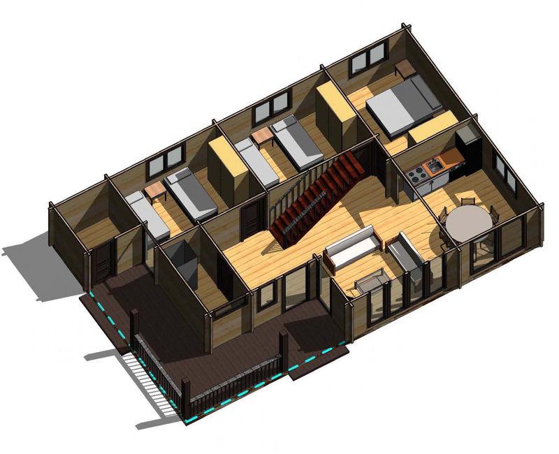Casas de madera y viviendas de madera precios y ofertas for Casas de madera ofertas