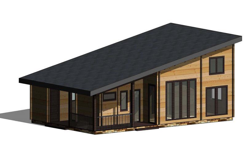 Casas de madera modelo londres daype - Maderas daype ...