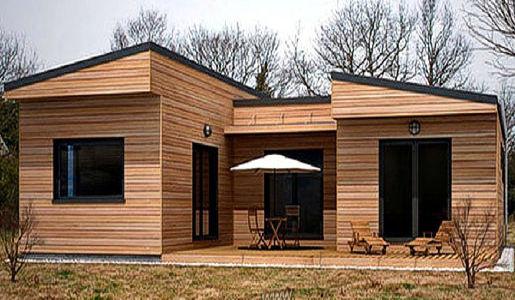 Casas de madera de 70 m2 a 110 m2 modelos y precios Casas modernas precio construccion