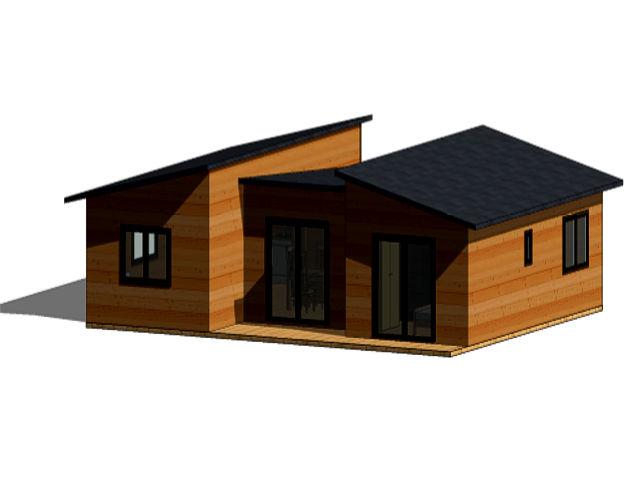 casas de madera modelo Málaga | DAYPE
