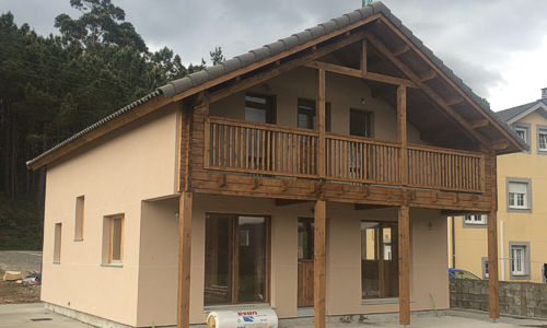 casas de madera marta ii
