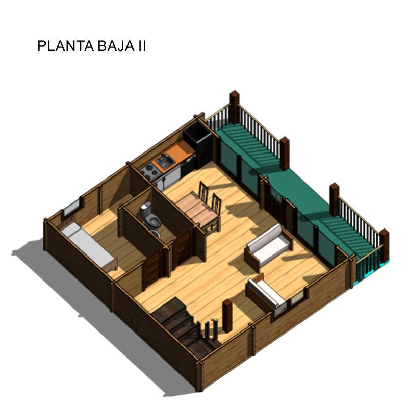 Casas de madera modelo marta daype - Casas canadienses de madera ...