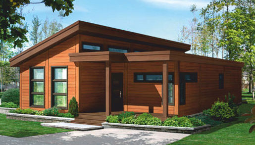 Casas de madera de 70 m2 a 110 m2 modelos y precios for Modelos de casas de madera de un piso