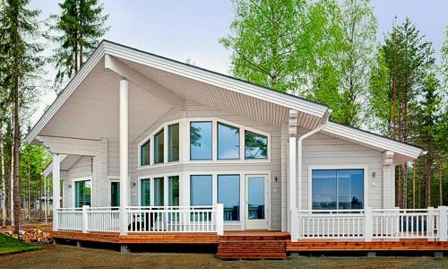 Casas de madera modelo moderna daype - Casas de madera precios y modelos ...