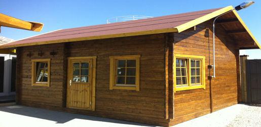 Casas de madera modelo nicole daype for Casas madera baratas precios