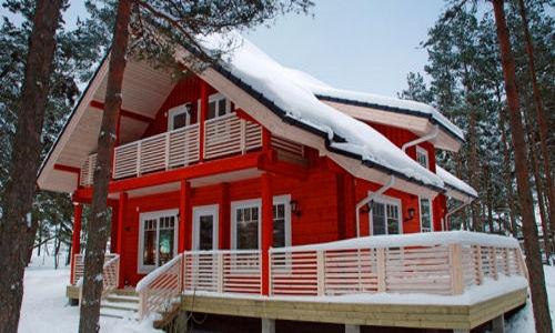 Casas de madera de 150 m2