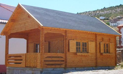 Casas de madera modelo sevilla daype - Modelos de casas de madera ...