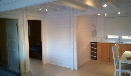 Casas de madera modelo tarragona daype - Maderas daype ...