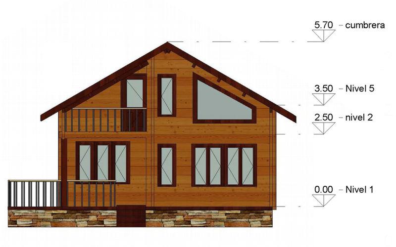 Casas de madera modelo toledo daype - Venta de casas de madera en sevilla ...