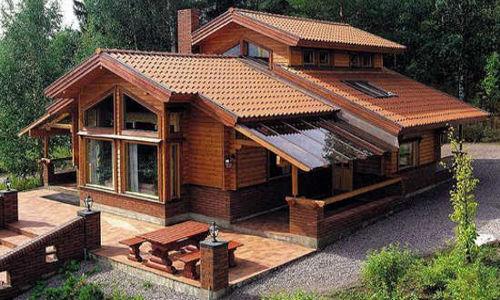 Casas de madera modelo tropical daype for Casetas jardin baratas