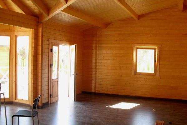 Casas de madera modelo vitoria i daype - Interior casas de madera ...