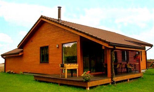 Casas de madera de 70 m2 a 110 m2 modelos y precios for Casas prefabricadas de madera precios