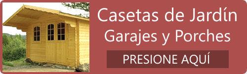 Casas de madera baratas precios ofertas daype for Ofertas casetas jardin