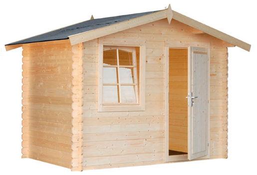 Casetas de madera para jard n brest daype for Casetas de madera para jardin baratas