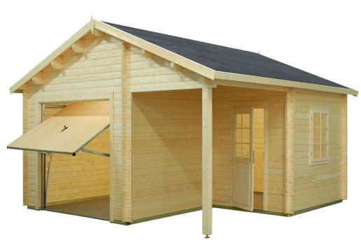 Casetas de madera para jard n garaje 4 daype - Casetas de jardin de madera ...
