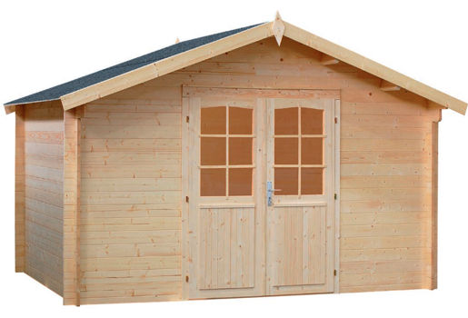 Casetas de madera para jard n le mans daype for Casetas de jardin de madera